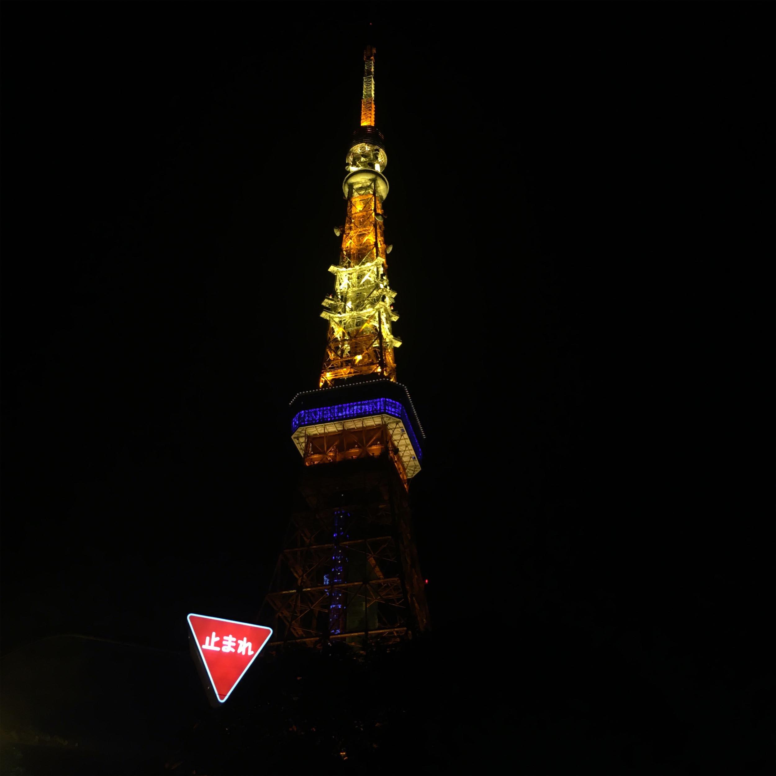 #TOKYO TOWER / TOKYO MINATO / JAPAN / 2016